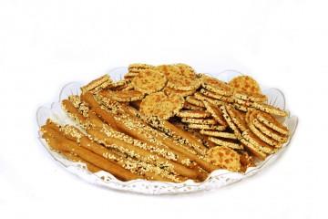 מגש עוגיות מלוחות